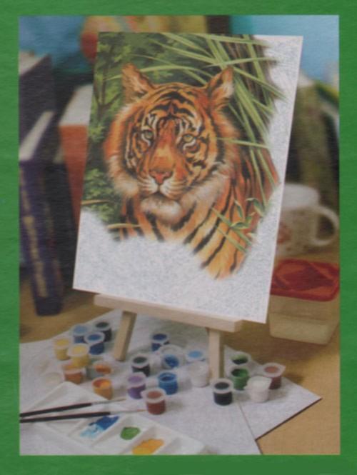 Иллюстрация 1 из 8 для Набор для раскрашивания красками (PPNJART2) | Лабиринт - игрушки. Источник: Лабиринт