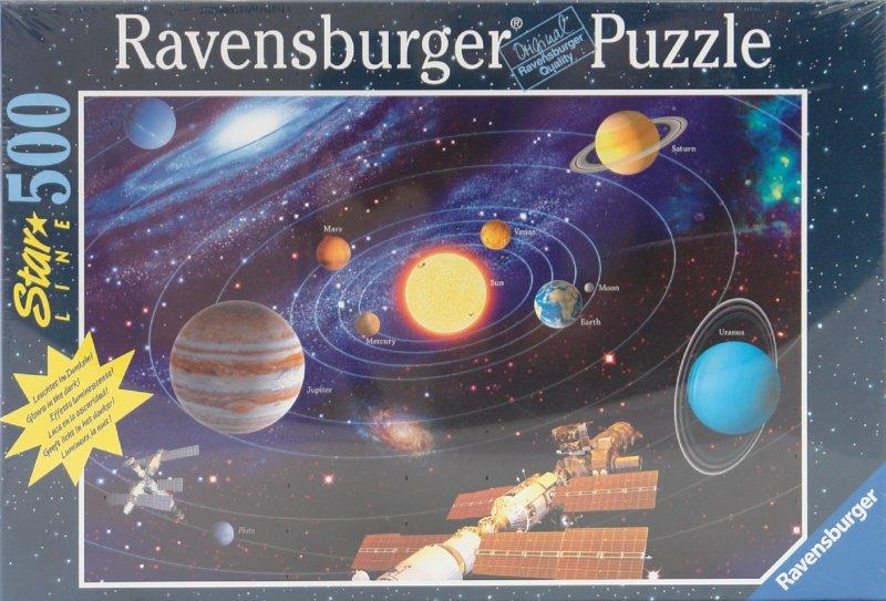 Иллюстрация 1 из 12 для Пазл на 500 элементов. Солнечная система (149261)   Лабиринт - игрушки. Источник: Лабиринт