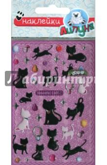 Наклейки детские bES004 Кошки