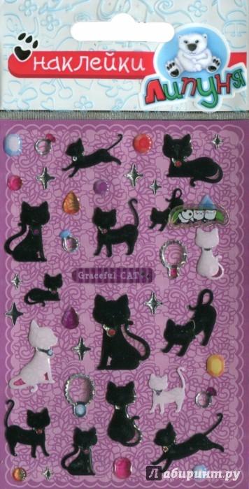 Иллюстрация 1 из 5 для Наклейки детские bES004 Кошки | Лабиринт - игрушки. Источник: Лабиринт