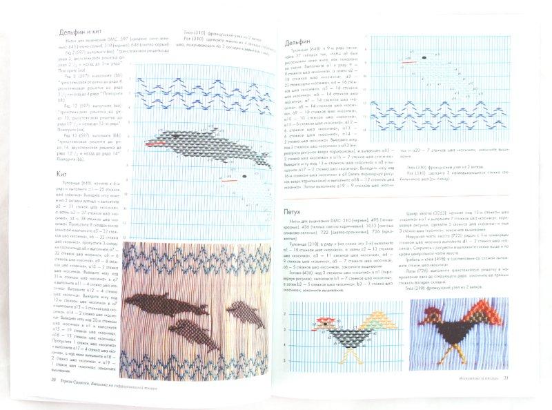 Иллюстрация 1 из 14 для Вышивка на гофрированной ткани | Лабиринт - книги. Источник: Лабиринт