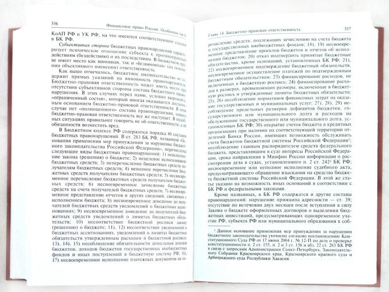 Иллюстрация 1 из 10 для Финансовое право России: Учебник - Юлия Крохина | Лабиринт - книги. Источник: Лабиринт