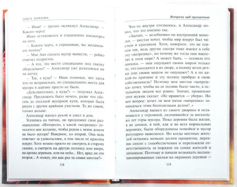 Иллюстрация 1 из 7 для Встреча над пропастью - Ольга Юнязова | Лабиринт - книги. Источник: Лабиринт