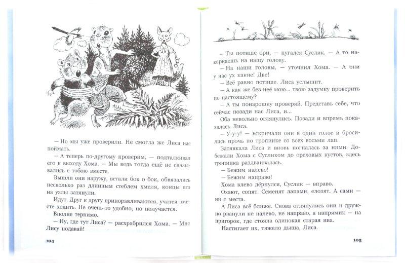 Иллюстрация 1 из 16 для Приключения Хомы и Суслика - Альберт Иванов   Лабиринт - книги. Источник: Лабиринт
