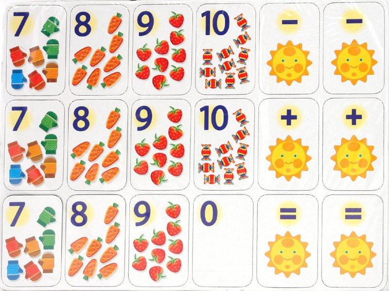 Арифметика в картинках малышам