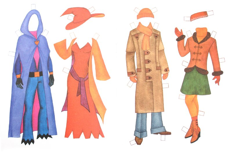 Иллюстрация 1 из 4 для Бумажная кукла: Иван и Яна | Лабиринт - книги. Источник: Лабиринт