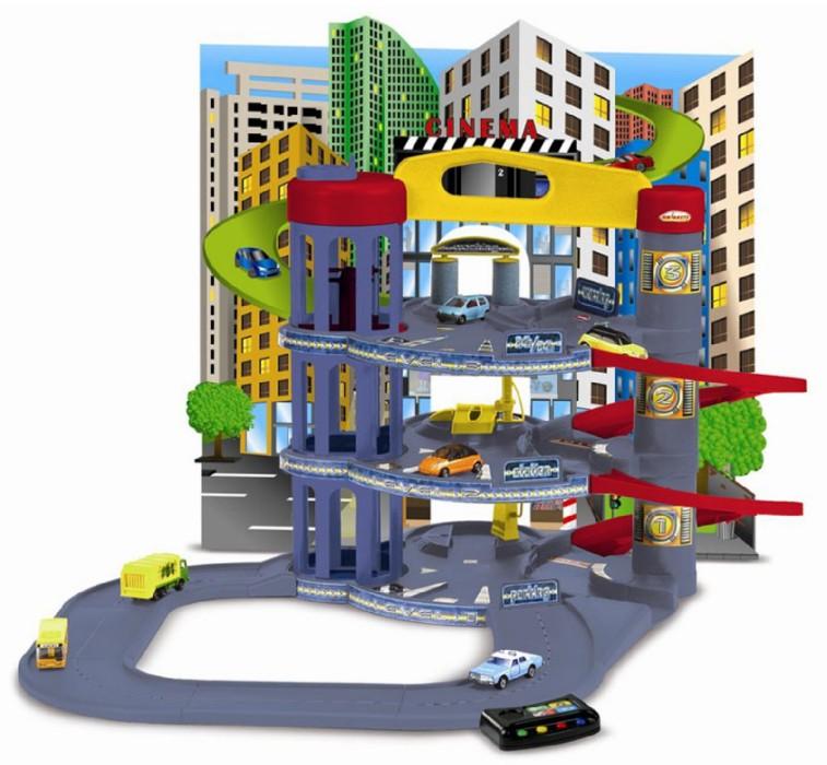 Иллюстрация 1 из 5 для Электронный автомобильный центр (3 уровня) | Лабиринт - игрушки. Источник: Лабиринт