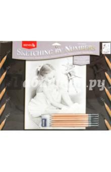 """Набор для раскрашивания графитными карандашами """"Балерина"""" (PPSK5)"""
