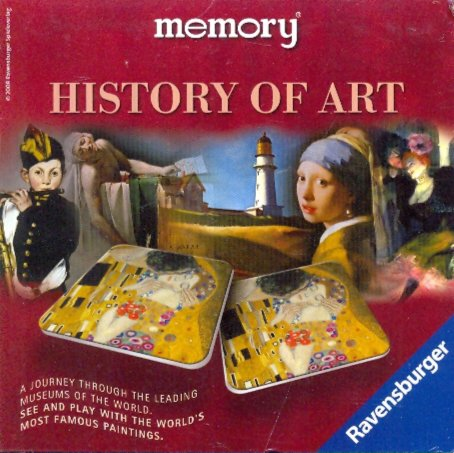 Иллюстрация 1 из 9 для Игра Мемори. История искусства (264735) | Лабиринт - игрушки. Источник: Лабиринт