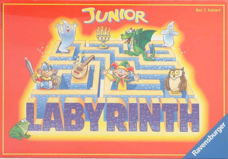 Иллюстрация 1 из 9 для Игра Лабиринт Джуниор (219315) - Max Kobbert | Лабиринт - игрушки. Источник: Лабиринт