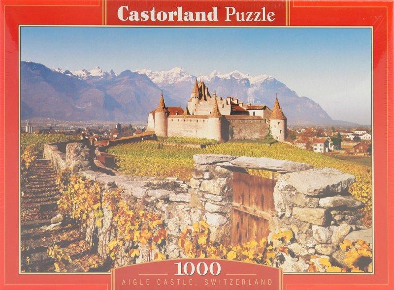 Иллюстрация 1 из 3 для Puzzle-1000. Замок, Швейцария (С-101924) | Лабиринт - игрушки. Источник: Лабиринт