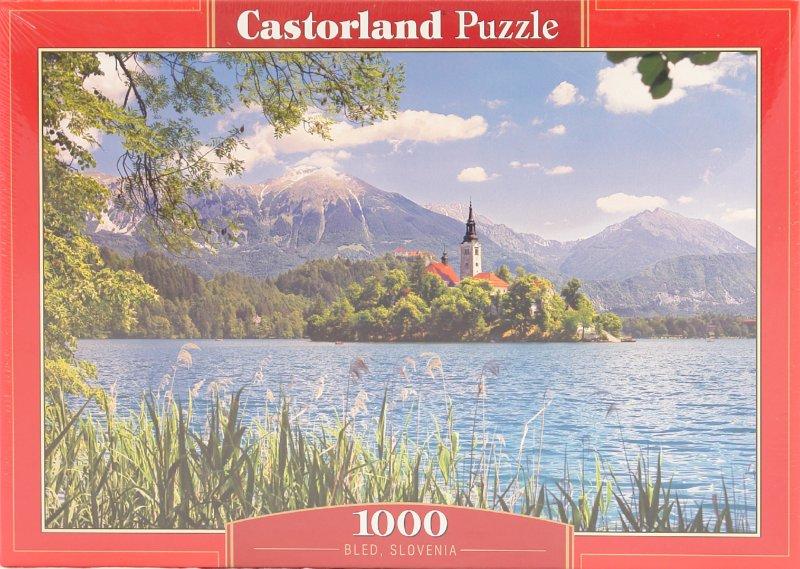 Иллюстрация 1 из 6 для Puzzle-1000. Озеро, Словения (С-101948) | Лабиринт - игрушки. Источник: Лабиринт