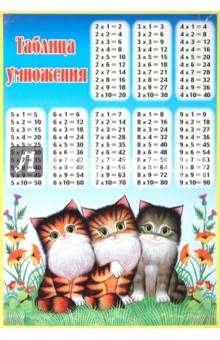 """Таблица умножения """"Котята"""" (400х500) (524)"""