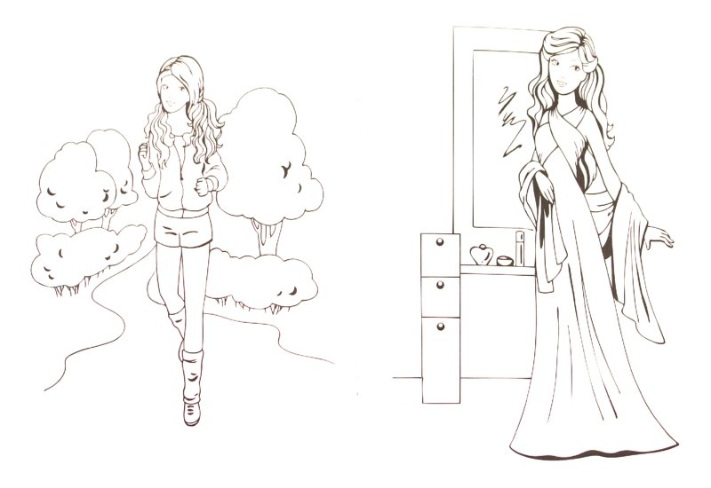 Иллюстрация 1 из 11 для Раскраска для девочек. Выпуск 7 | Лабиринт - книги. Источник: Лабиринт