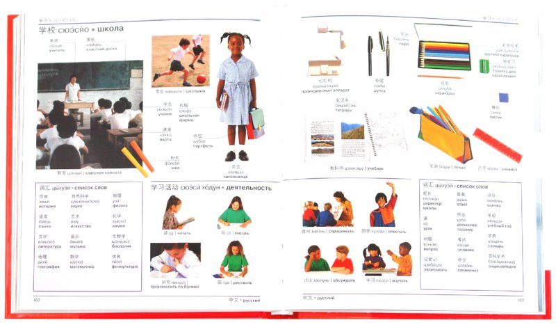 Иллюстрация 1 из 4 для Китайско-русский наглядный словарь   Лабиринт - книги. Источник: Лабиринт