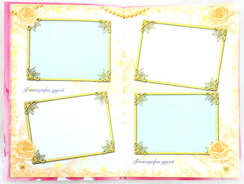 Иллюстрация 1 из 7 для Мой альбом. Я, моя семья, мои друзья (принцесса) - Р. Данкова | Лабиринт - книги. Источник: Лабиринт
