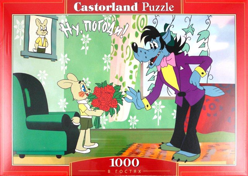 """Иллюстрация 1 из 4 для Puzzle-1000 """"Ну, погоди! В гостях"""" (C-PU100038)   Лабиринт - игрушки. Источник: Лабиринт"""