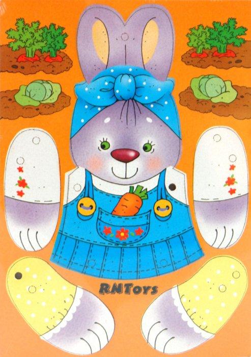 Иллюстрация 1 из 3 для Дергунчик Зайка (Ли-164) | Лабиринт - игрушки. Источник: Лабиринт
