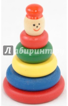 Пирамидка  разноцветная