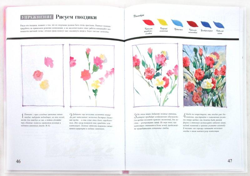 Скачать книги по рисованию цветов