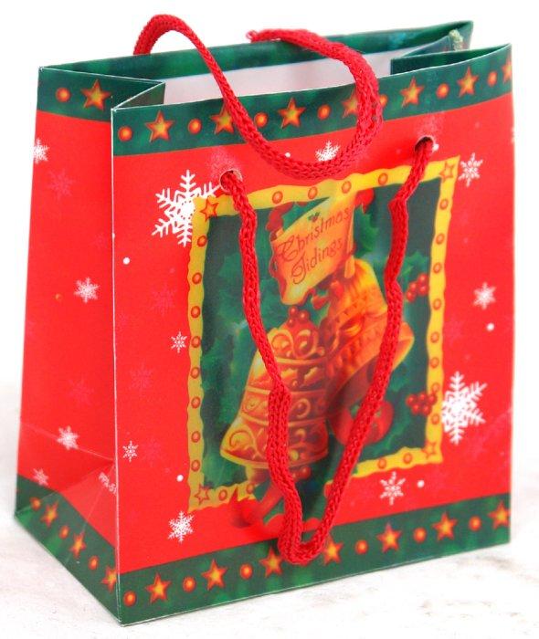Иллюстрация 1 из 2 для Пакет новогодний (070715-7) | Лабиринт - сувениры. Источник: Лабиринт
