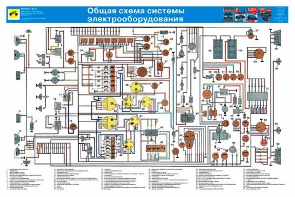 камаза схемы электрооборудования