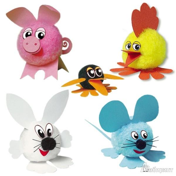 Иллюстрация 1 из 12 для Помпончики (АА 48-601) | Лабиринт - игрушки. Источник: Лабиринт