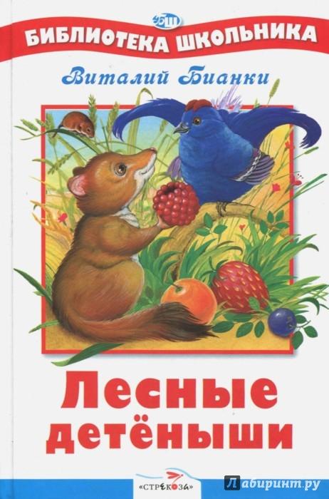 Иллюстрация 1 из 35 для Лесные детёныши - Виталий Бианки | Лабиринт - книги. Источник: Лабиринт
