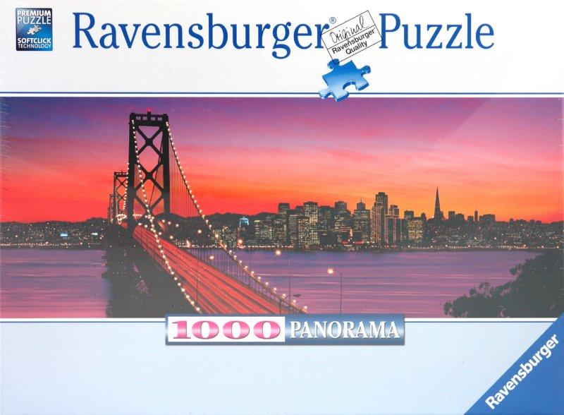 "Иллюстрация 1 из 3 для Пазл-панорама-1000 ""Мост в Сан-Франциско"" (151042) | Лабиринт - игрушки. Источник: Лабиринт"