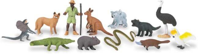 Иллюстрация 1 из 13 для Обитатели Австралии (681404) | Лабиринт - игрушки. Источник: Лабиринт