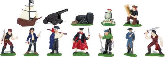 Иллюстрация 1 из 9 для Пираты, 12 фигурок (680804)   Лабиринт - игрушки. Источник: Лабиринт