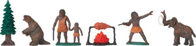 Иллюстрация 1 из 5 для Доисторическая жизнь, 12 фигурок (681004) | Лабиринт - игрушки. Источник: Лабиринт