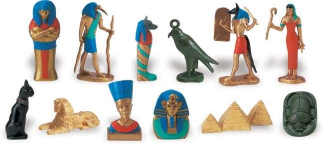 Иллюстрация 1 из 10 для Древний Египет, 12 фигурок (699304) | Лабиринт - игрушки. Источник: Лабиринт