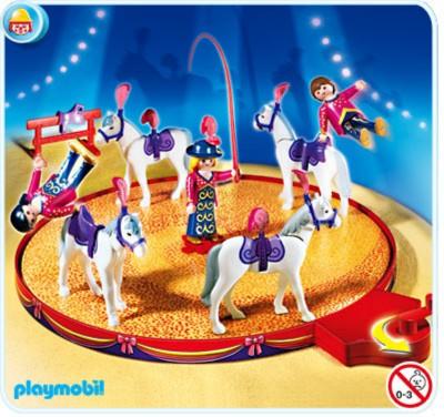 Иллюстрация 1 из 3 для Конный цирк на подвижной арене (4234) | Лабиринт - игрушки. Источник: Лабиринт