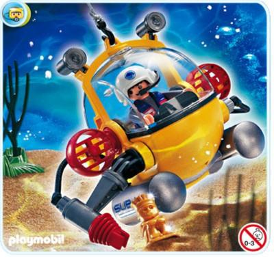 Иллюстрация 1 из 3 для Глубоководный батискаф (4478) | Лабиринт - игрушки. Источник: Лабиринт