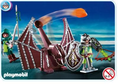 Иллюстрация 1 из 9 для Катапульта дракона (4840) | Лабиринт - игрушки. Источник: Лабиринт