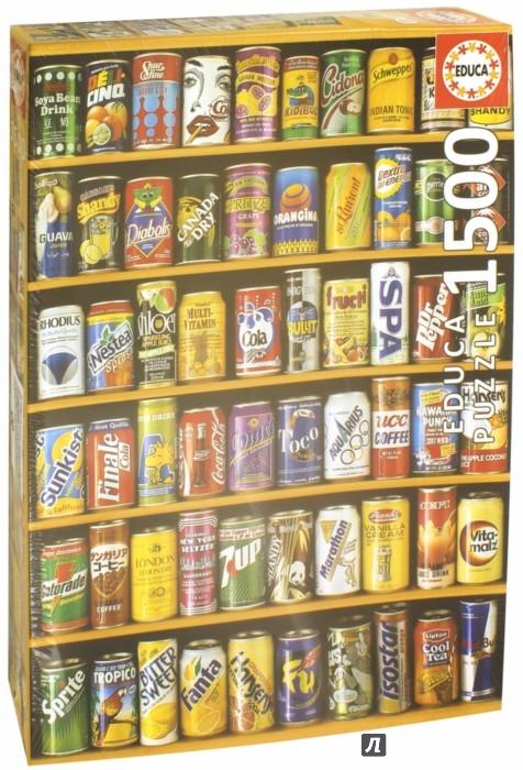 """Иллюстрация 1 из 12 для Пазл-1500 """"Банки"""" (коллаж) (14446)   Лабиринт - игрушки. Источник: Лабиринт"""