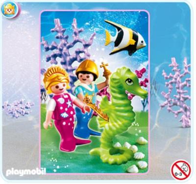 Иллюстрация 1 из 5 для Принц и принцесса-русалка (4814) | Лабиринт - игрушки. Источник: Лабиринт