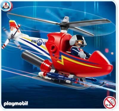 Иллюстрация 1 из 8 для Вертолет пожарной службы (4824) | Лабиринт - игрушки. Источник: Лабиринт