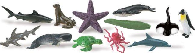 """Иллюстрация 1 из 8 для Набор """"Океан"""", 12 фигурок (700204)   Лабиринт - игрушки. Источник: Лабиринт"""