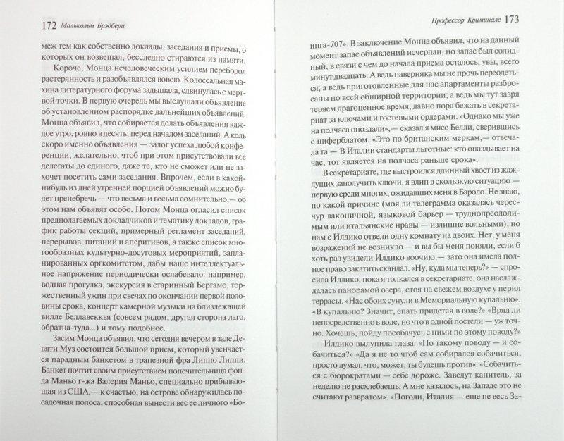 Иллюстрация 1 из 4 для Профессор Криминале - Малькольм Брэдбери   Лабиринт - книги. Источник: Лабиринт