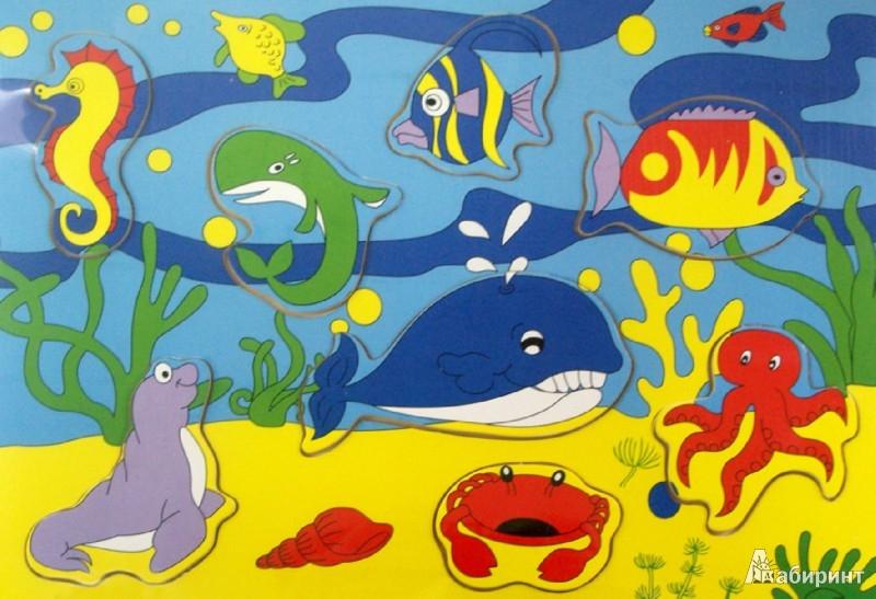 """Иллюстрация 1 из 4 для Игра-пазл  """"Океан с китом"""" (3616)   Лабиринт - игрушки. Источник: Лабиринт"""