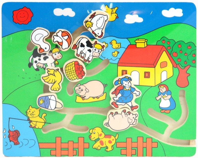 Иллюстрация 1 из 3 для Игра лабиринт (4563) | Лабиринт - игрушки. Источник: Лабиринт
