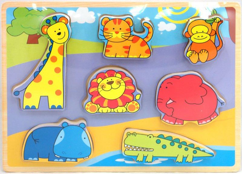 Иллюстрация 1 из 5 для Рамка вкладыши (в Африке) (5449)   Лабиринт - игрушки. Источник: Лабиринт