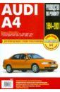 Audi A4: Руководство по эксплуатации, техническому обслуживанию и ремонту