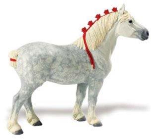 Иллюстрация 1 из 13 для Лошадь першерон, мухортая (159605) | Лабиринт - игрушки. Источник: Лабиринт