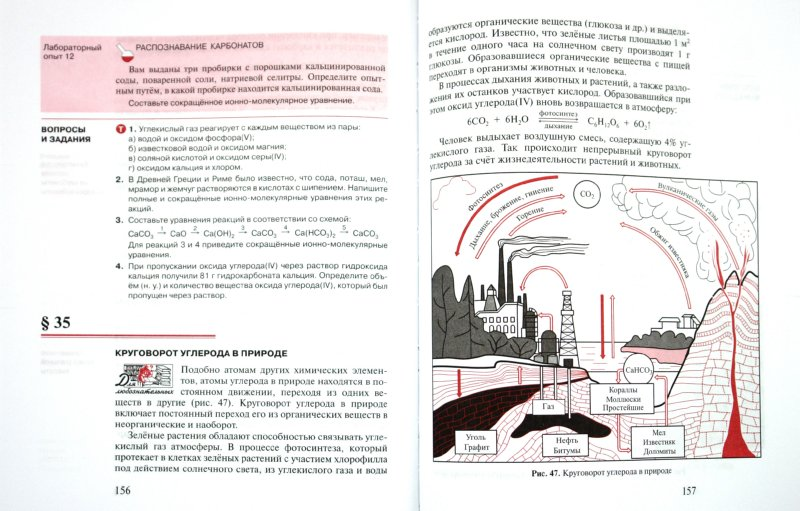 Иллюстрация 1 из 8 для Химия. 9 класс. Учебник - Новошинский, Новошинская | Лабиринт - книги. Источник: Лабиринт