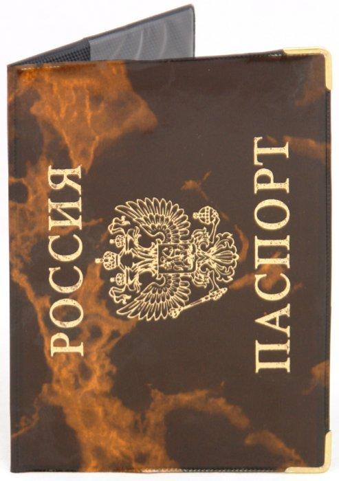 Иллюстрация 1 из 3 для Обложка для паспорта, глянец, с уголками (ОД6-02) | Лабиринт - канцтовы. Источник: Лабиринт