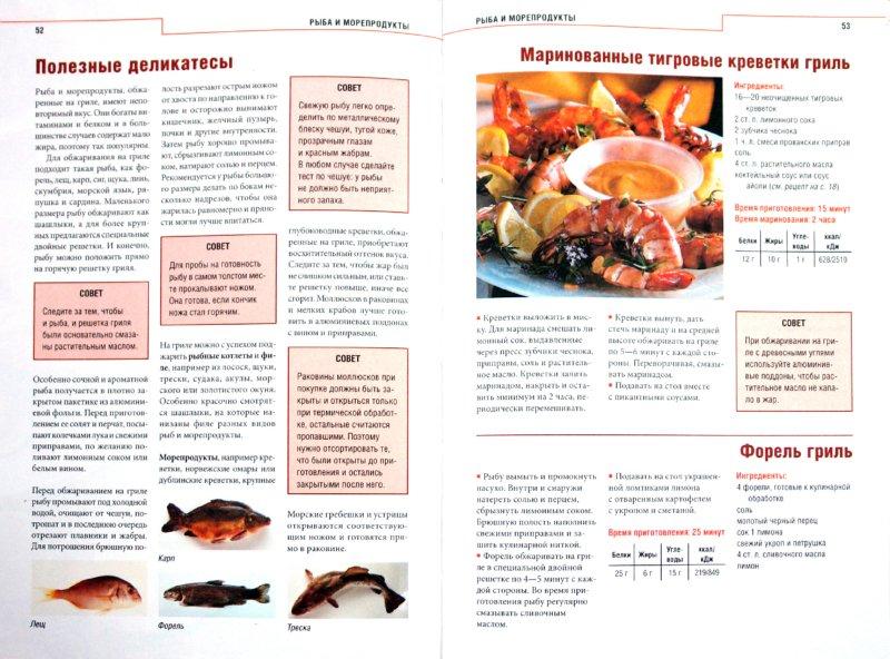 Иллюстрация 1 из 16 для Гриль и барбекю. Простые рецепты приготовления мяса, рыбы и овощей | Лабиринт - книги. Источник: Лабиринт