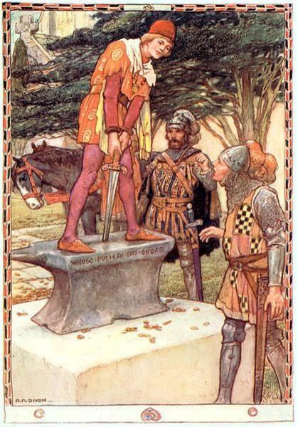 Иллюстрация 1 из 73 для Легенды о короле Артуре | Лабиринт - книги. Источник: Лабиринт